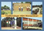 "Traditionslager ""Klim Woroschilow"" der Pionierorganisation ""Ernst Thälmann"" bei Templin - 1985"