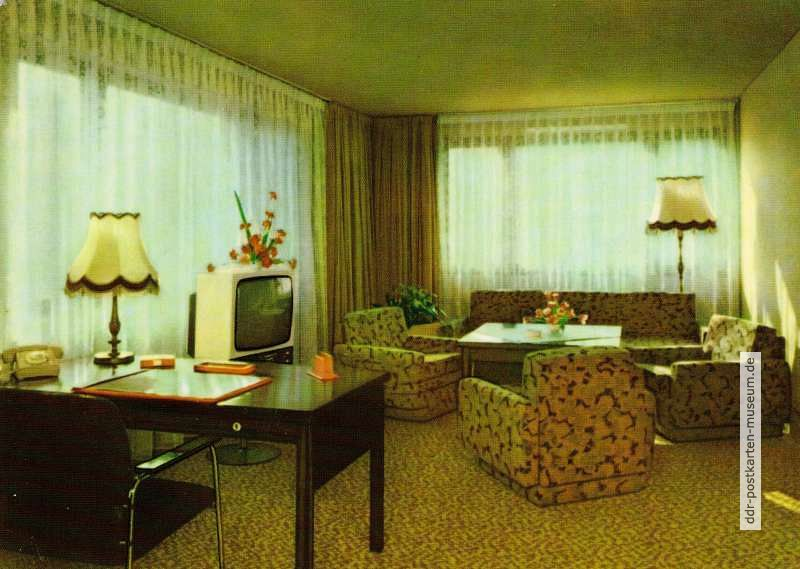 "Berlin, Appartement im Hotel ""Metropol"" - 1977"